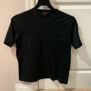 prada black Tee shirt